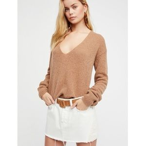 Free People // Patched Denim Mini Skirt NWT🌛